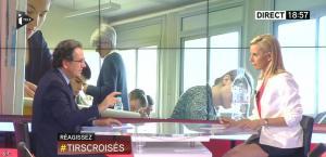 Laurence Ferrari dans Tirs Croisés - 17/06/15 - 10