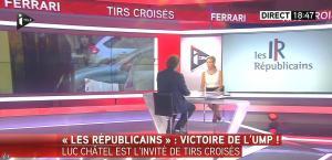 Laurence Ferrari dans Tirs Croisés - 26/05/15 - 02