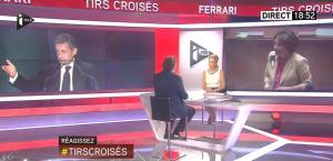 Laurence Ferrari dans Tirs Croisés - 26/05/15 - 06
