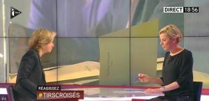 Laurence Ferrari dans Tirs Croisés - 30/03/15 - 03