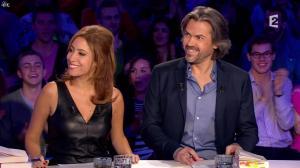 Léa Salamé dans On n'est pas Couché - 07/03/15 - 01