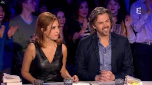 Léa Salamé dans On n'est pas Couché - 07/03/15 - 02