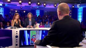Léa Salamé dans On n'est pas Couché - 07/03/15 - 08