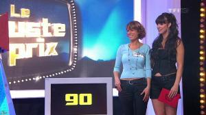 Fanny Veyrac dans le Juste Prix - 02/02/10 - 09