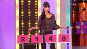 Fanny Veyrac dans le Juste Prix - 05/01/10 - 11