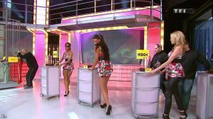 Les Gafettes, Fanny Veyrac, Nadia Aydanne et Doris Rouesne dans le Juste Prix - 28/04/10 - 02