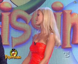 Michelle Hunziker dans Paperissima - 17/10/08 - 07