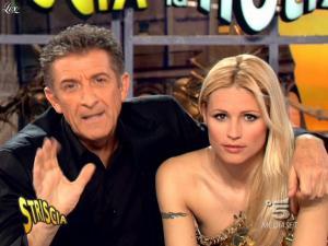 Michelle Hunziker dans Striscia la Notizia - 02/03/09 - 07