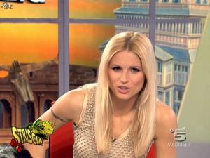 Michelle Hunziker dans Striscia la Notizia - 07/03/09 - 12