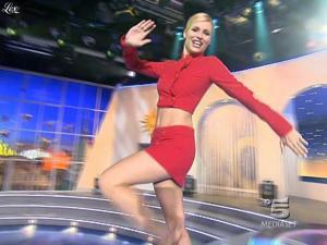 Michelle Hunziker dans Striscia la Notizia - 21/01/08 - 02