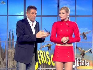 Michelle Hunziker dans Striscia la Notizia - 21/01/08 - 06
