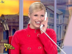 Michelle Hunziker dans Striscia la Notizia - 21/01/08 - 10