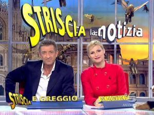 Michelle Hunziker dans Striscia la Notizia - 21/01/08 - 12