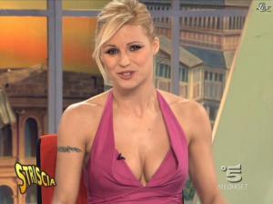 Michelle Hunziker dans Striscia la Notizia - 21/02/09 - 06