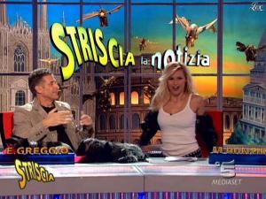 Michelle Hunziker dans Striscia la Notizia - 27/02/09 - 06