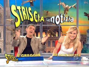 Michelle Hunziker dans Striscia la Notizia - 27/02/09 - 08