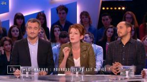 Natacha Polony dans le Grand Journal de Canal Plus - 10/12/14 - 02