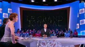 Natacha Polony dans le Grand Journal de Canal Plus - 23/12/14 - 02