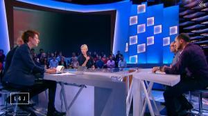 Natacha Polony et Maïtena Biraben dans le Grand Journal de Canal Plus - 23/10/14 - 06