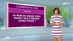 Nathalie Renoux dans le 12-45 - 04/07/15 - 02