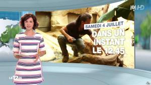 Nathalie Renoux dans le 12-45 - 04/07/15 - 04