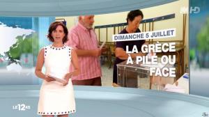 Nathalie Renoux dans le 12-45 - 05/07/15 - 01