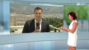 Nathalie Renoux dans le 12-45 - 05/07/15 - 02