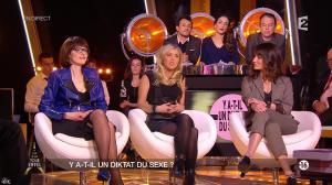 Octavie Delmaux, Enora Malagré et Diane Ducret dans un Soir à la Tour Eiffel - 11/02/15 - 04