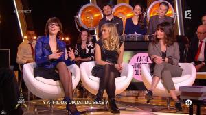 Octavie Delmaux, Enora Malagré et Diane Ducret dans Un Soir à la Tour Eiffel - 11/02/15 - 05