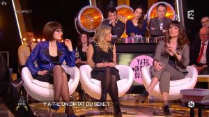 Octavie Delmaux, Enora Malagré et Diane Ducret dans Un Soir à la Tour Eiffel - 11/02/15 - 11