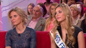 Sylvie Tellier et Camille Cerf dans Vivement Dimanche Prochain - 03/05/15 - 05