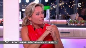 Anne-Sophie Lapix dans C à Vous - 06/01/15 - 03