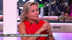 Anne-Sophie Lapix dans C à Vous - 06/01/15 - 04