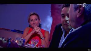 Anne-Sophie Lapix dans C à Vous - 06/01/15 - 13