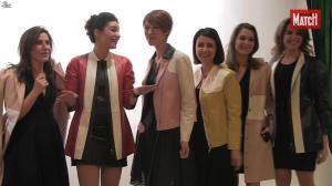 Apolline de Malherbe, Fanny Agostini et Les Filles de BFM TV dans Paris Match - 07/04/16 - 03