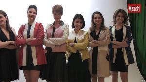 Apolline de Malherbe, Fanny Agostini et Les Filles de BFM TV dans Paris Match - 07/04/16 - 08