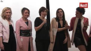 Apolline de Malherbe, Pascale de la Tour du Pin et Les Filles de BFM TV dans Paris Match - 07/04/16 - 05