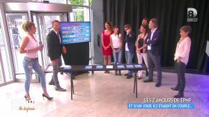Caroline Ithurbide et Clio Pacjzer dans Touche pas à mon Poste - 17/06/16 - 03