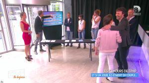 Caroline Ithurbide et Clio Pacjzer dans Touche pas à mon Poste - 17/06/16 - 06
