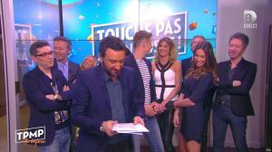 Caroline Ithurbide dans Touche pas à mon Poste - 19/04/16 - 13