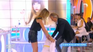 Caroline Ithurbide dans Touche pas à mon Poste - 21/09/15 - 12