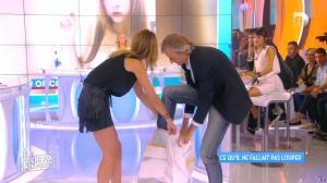 Caroline Ithurbide dans Touche pas à mon Poste - 21/09/15 - 13