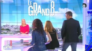 Laurence Ferrari, Aïda Touihri et Elisabeth Bost dans le Grand 8 - 11/03/16 - 09
