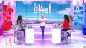 Laurence Ferrari, Hapsatou Sy, Aïda Touihri et Elisabeth Bost dans le Grand 8 - 11/03/16 - 23
