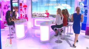 Laurence Ferrari, Hapsatou Sy, Aïda Touihri et Hélène Mannarino dans le Grand 8 - 10/09/15 - 25