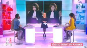 Laurence Ferrari, Hapsatou Sy et Aïda Touihri dans le Grand 8 - 02/03/16 - 02