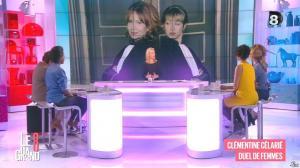 Laurence Ferrari, Hapsatou Sy et Aïda Touihri dans le Grand 8 - 04/03/16 - 08