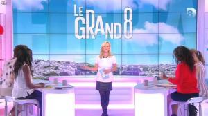 Laurence Ferrari, Hapsatou Sy et Aïda Touihri dans le Grand 8 - 11/03/16 - 02