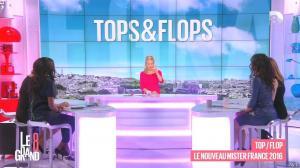 Laurence Ferrari, Hapsatou Sy et Aïda Touihri dans le Grand 8 - 11/03/16 - 06