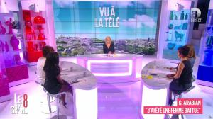 Laurence Ferrari, Hapsatou Sy et Aïda Touihri dans le Grand 8 - 18/04/16 - 15